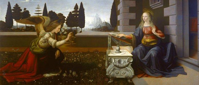 Visite-guidate-Uffizi-Leonardo-da-Vinci-Annunciazione
