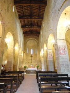 Guide In Toscana. La pieve di San Lazzaro a Lucardo (Certaldo)