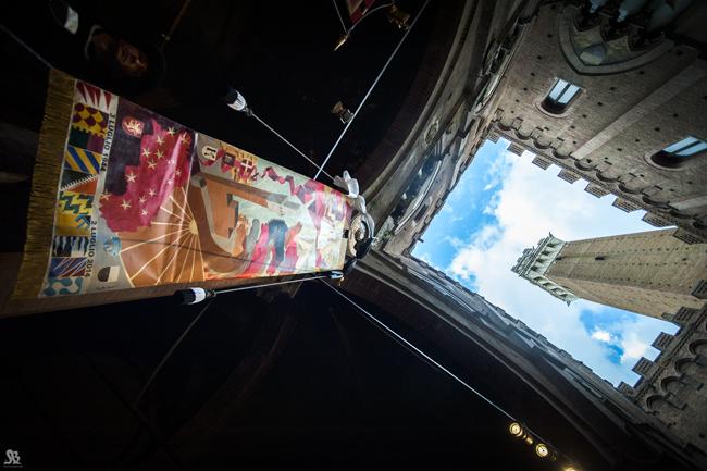 Visite guidate a Siena: il Drappellone del Palio