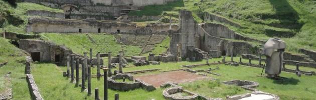 Guide in Toscana, Volterra, Teatro romano, Terme romane