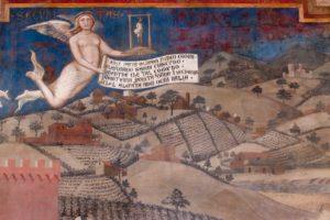 Ambrogio Lorenzetti, Effetti del Buon Governo in campagna, Siena, Palazzo Pubblico