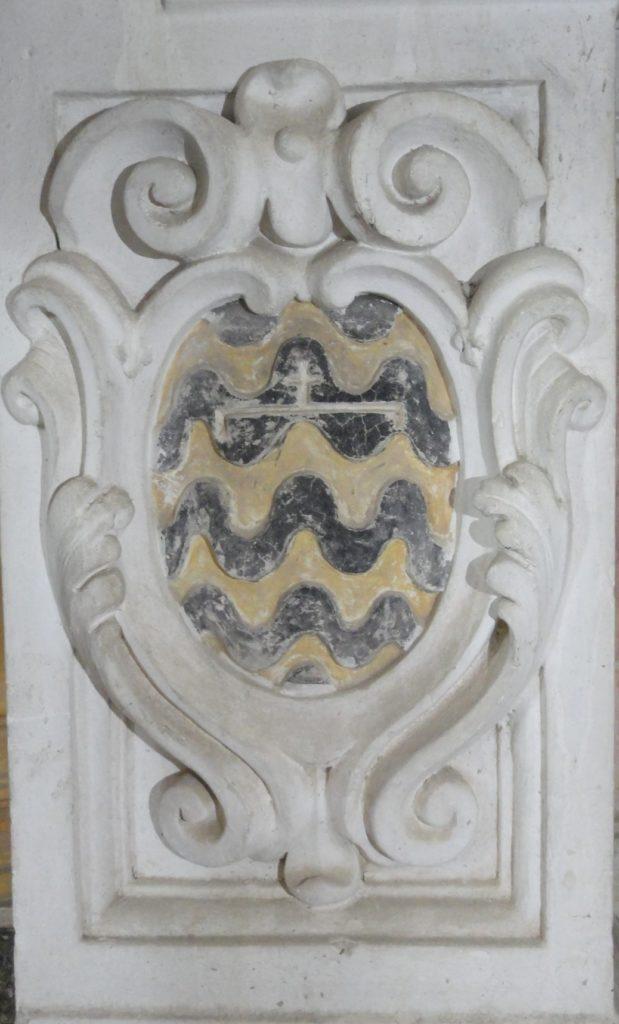 Certaldo, stemma della famiglia Pitti