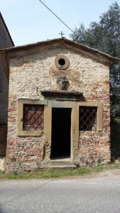 Guide in Toscana. L'oratorio di Santa Lucia a Pino (Certaldo)