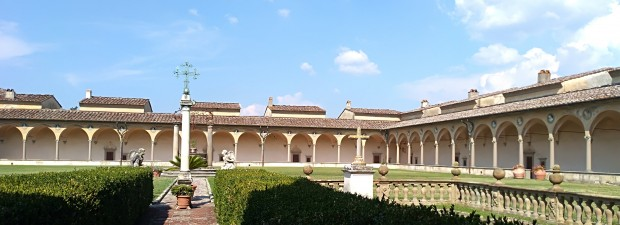 Guideintoscana-Certosa-Galluzzo-Firenze-Chiostro